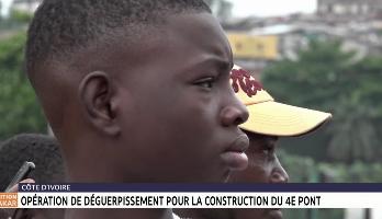 Côte d'Ivoire: opération de déguerpissement pour la construction du 4e pont