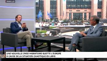 """Koert Debeuf : """"Deux millions d'armes sont passées depuis la Libye vers d'autres régions"""""""