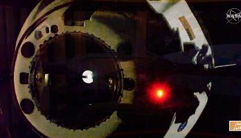 """مركبة """"سبايس إكس"""" تبدأ رحلة العودة إلى الأرض"""