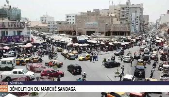 Sénégal: démolition du marché Sandaga