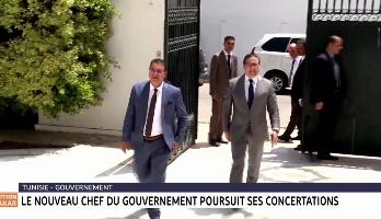 Tunisie: le nouveau chef de gouvernement poursuit ses concertations