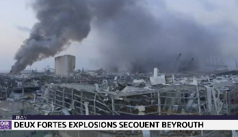 Liban: deux fortes explosions secouent Beyrouth