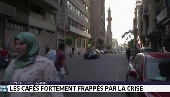Egypte: les cafés fortement frappés par la crise