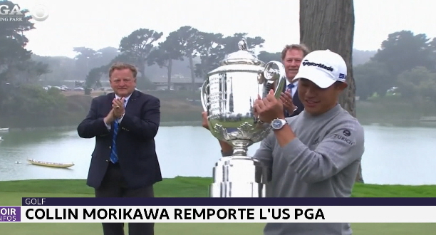 Golf: Collin Morikawa remporte l'US PGA