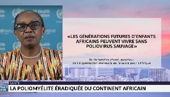 Santé: la poliomyélite éradiquée du continent africain