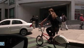 Transport: les Mexicains optent pour le vélo