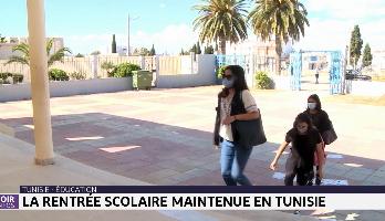 Tunisie-éducation: la rentrée scolaire maintenue