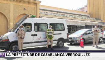 Maroc-Coronavirus: la préfecture de Casablanca verrouillée