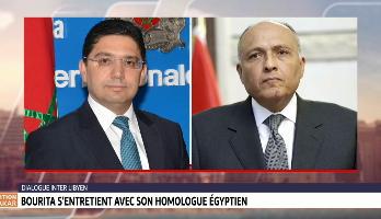 Dialogue inter-libyen: Bourita s'entretient avec son homologue libyen