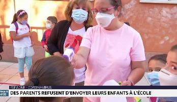 Espagne-Coronavirus: des parents refusent d'envoyer leurs enfants à l'école