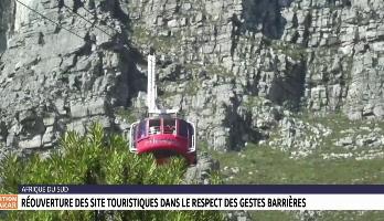 Afrique du Sud: réouverture des sites touristiques dans les respects des gestes barrières