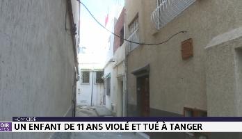 Homicide: un enfant de 11 ans violé et tué à Tanger