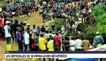 RDC: les dépouilles de 18 orpailleurs récupérées