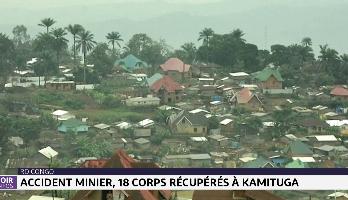 RDC: accident minier, 18 corps récupérés à Kamituga