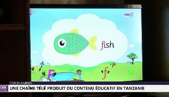 Une chaîne télé produit du contenu éducatif en Tanzanie