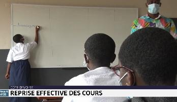 Côte d'Ivoire: reprise effective des cours