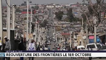Afrique du Sud: réouverture des frontières le 1er octobre