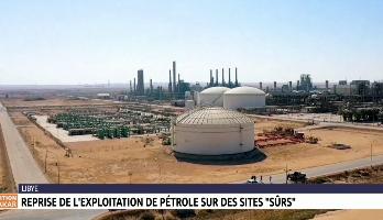 """Libye: reprise de l'exploitation de pétrole sur des sites """"sûrs"""""""
