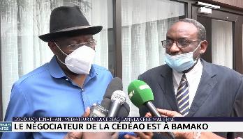 Goodluck Jonathan à Bamako pour une possible levée des sanctions de la Cédéao