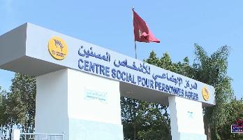 """حملة تحاليل الكشف عن """"كوفيد 19"""" لنزلاء المركز الاجتماعي للأشخاص المسنين بالمحمدية"""