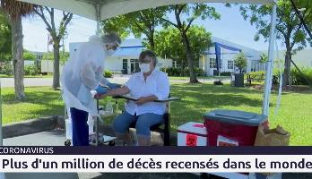 Covid-19: plus d'1 million de décès recensés dans le monde