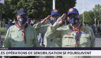 Casablanca: les opérations de sensibilisation se poursuivent