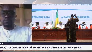 Moctar Ouane nommé premier ministre de la transition