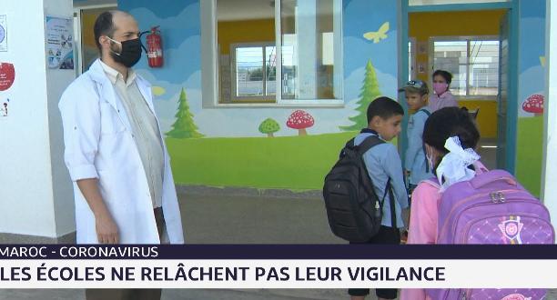 Maroc: les écoles ne relâchent pas leur vigilance