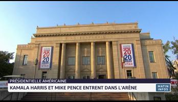 Présidentielle américaine: Kamala Harris et Mike Pence entrent dans l'arène