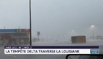 États-Unis: l'ouragan Delta a atteint les côtes de la Louisiane
