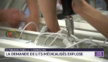 République Tchèque: La demande de lits médicalisés explose