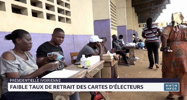 Côte d'Ivoire: faible taux de retrait des cartes d'électeurs