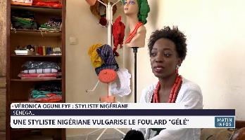 """Sénégal: une styliste nigériane vulgarise le foulard """"GÉLÉ"""""""