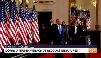 Présidentielle américaine: Donald Trump menace de recours judiciaires