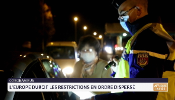 Coronavirus: l'Europe durcit les restrictions en ordre dispersé