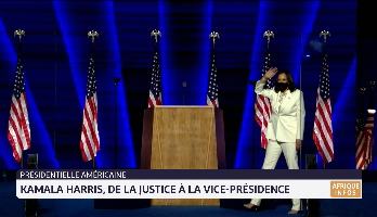 Présidentielle américaine: Kamala Harris, de la justice à la vice-présidence