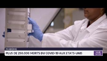250.000 morts du Covid-19 aux Etats-Unis