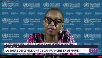 La barre des 2 millions de cas franchie en Afrique