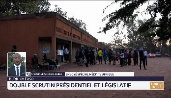 Double scrutin présidentiel et législatif au Burkina Faso