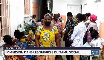 Gabon: immersion dans les services du samu social