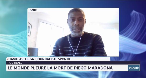 Décès de Maradona: retour sur la vie d'un grand génie avec le journaliste sportif David Astorga