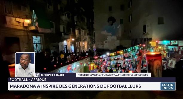 Témoignage: Maradona a inspiré des générations de footballeurs en Afrique