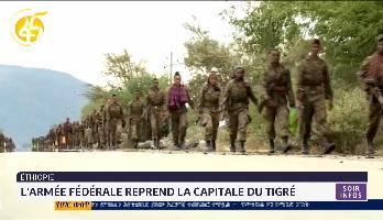 Ethiopie: l'armée fédérale reprend la capitale du Tigré