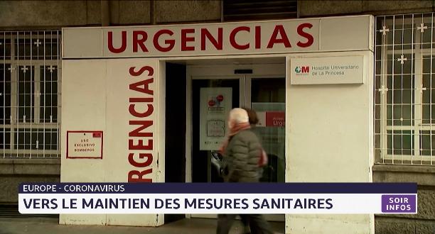 Europe: vers le maintien des mesures sanitaires