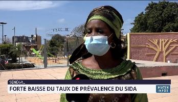 Sénégal: forte baisse du taux de prévalence du Sida