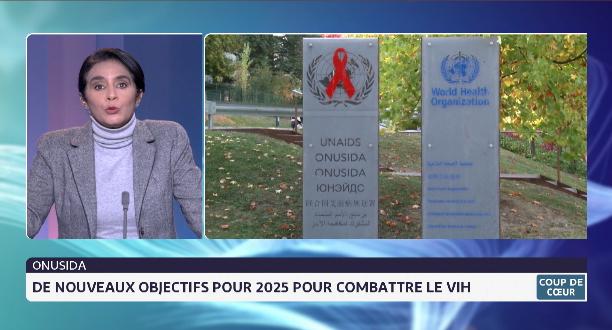ONU-Sida: de nouveaux objectifs pour 2025 pour le combattre le VIH