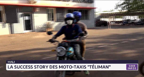 "Mali: la success story des moto-taxis ""Téliman"""
