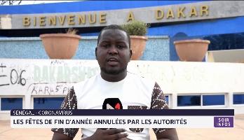 Sénégal: les fêtes de fin d'année annulées par les autorités