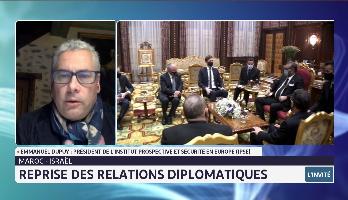 Reprise des relation diplomatique entre le Maroc et Israël, l'analyse d'Emmanuel Dupuy