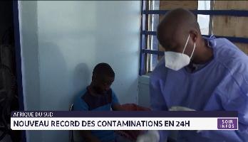 Coronavirus-Afrique du Sud: un nouveau record des contaminations en 24h